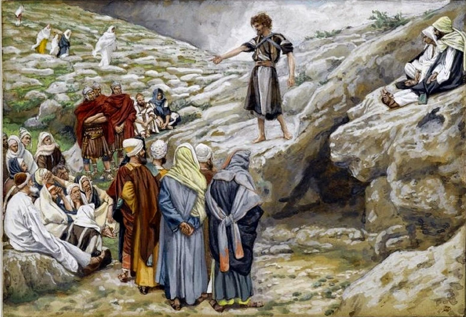Resultado de imagen para testimonio de juan el bautista