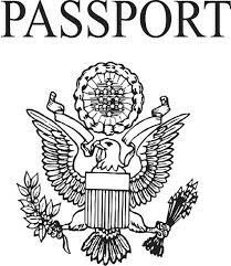 Passport Template Just  Geography Mania    Passport