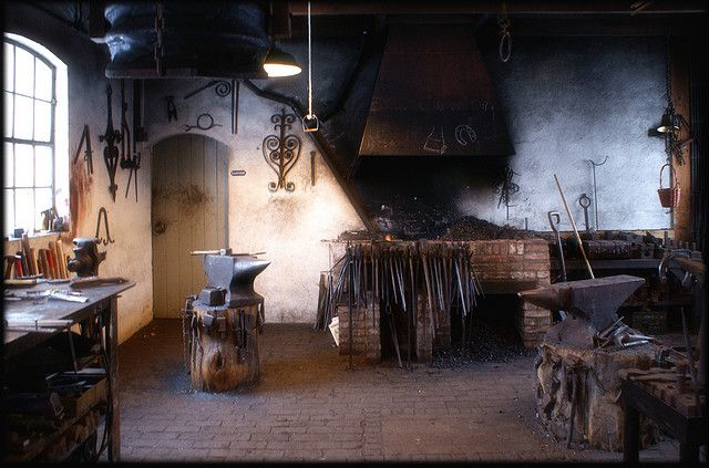 Blacksmith | Tool's | Blacksmithing, Coal forge ...