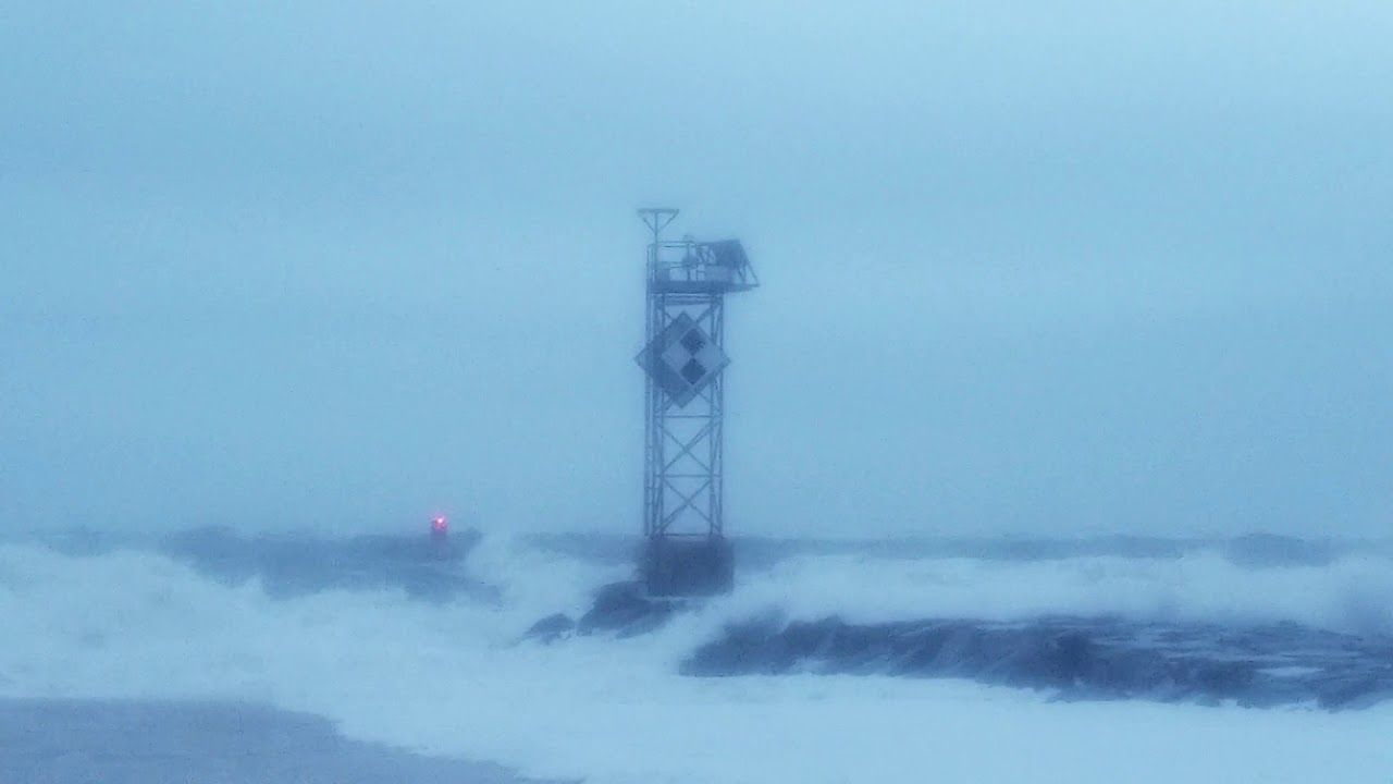 Ocean City MD Nor'easter at the Inlet Jetty | October 27