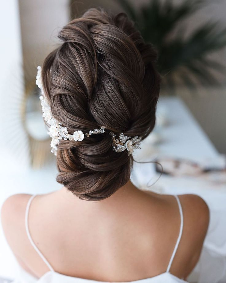 #cute #hair #hairsty #hairstyles #lob #prom #scrunchie #winterformal #lob #hair| #prom lob hair ...