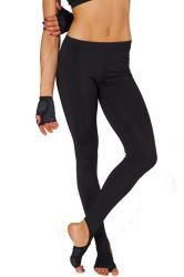 ac0da9768447c NO Slip Yoga Leggings with foot grips stirrup straps. Evolve Fit Wear/ Electric  Yoga Anti-Slip Slimming Yoga Pant with Stirrup Black.