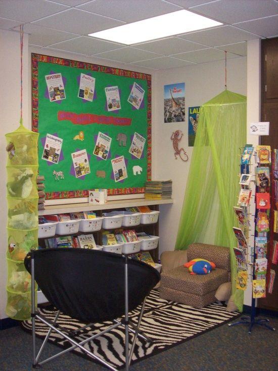 Jungle Themed Reading Corner Idea For My Boys Jungle