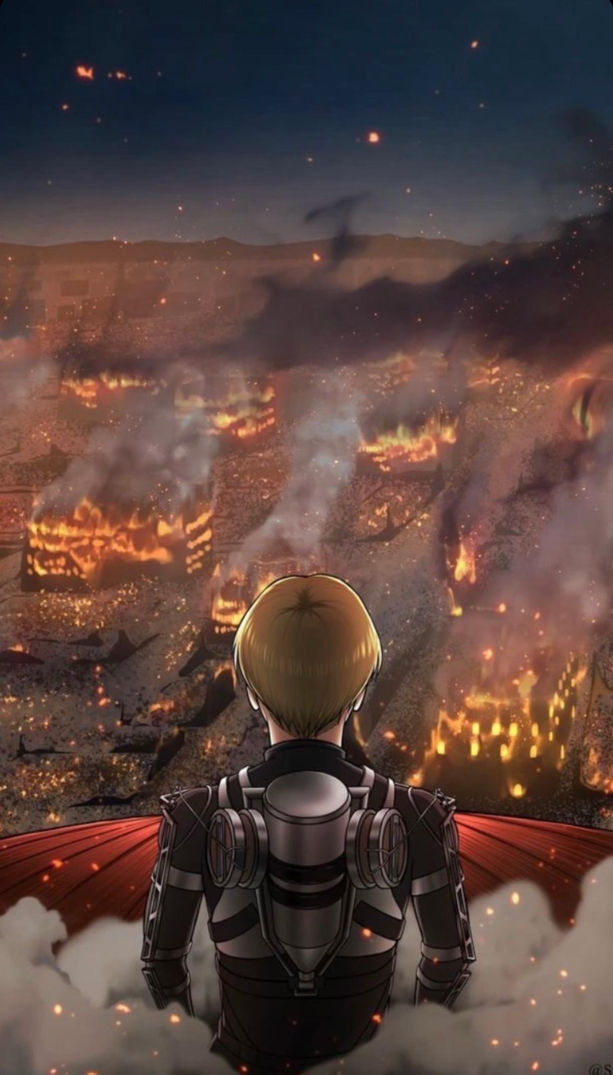 Armin Colossal Titan 🔥