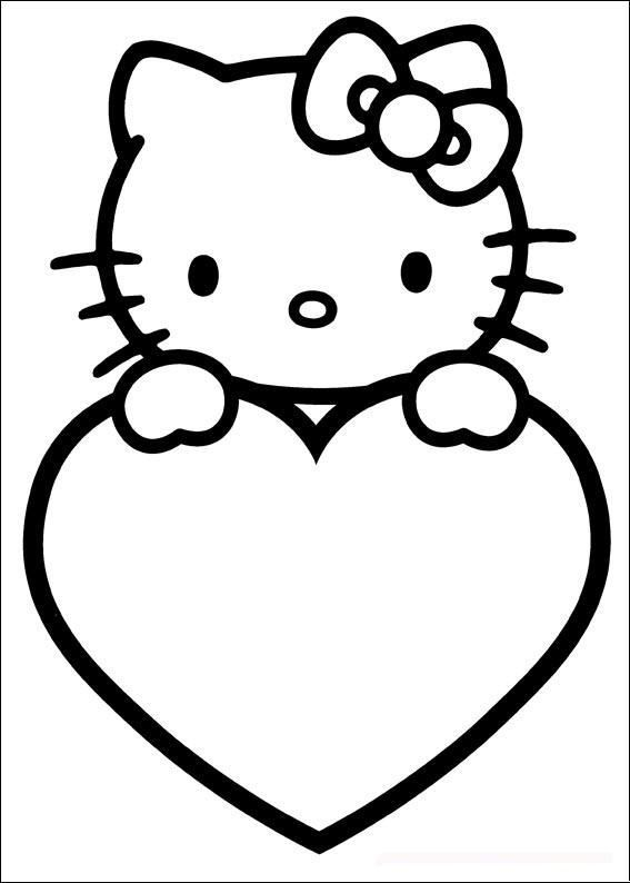 Top 44 Free Printable Valentines Day Coloring Pages Online Hello Kitty Coloring Hello Kitty Colouring Pages Hello Kitty Drawing