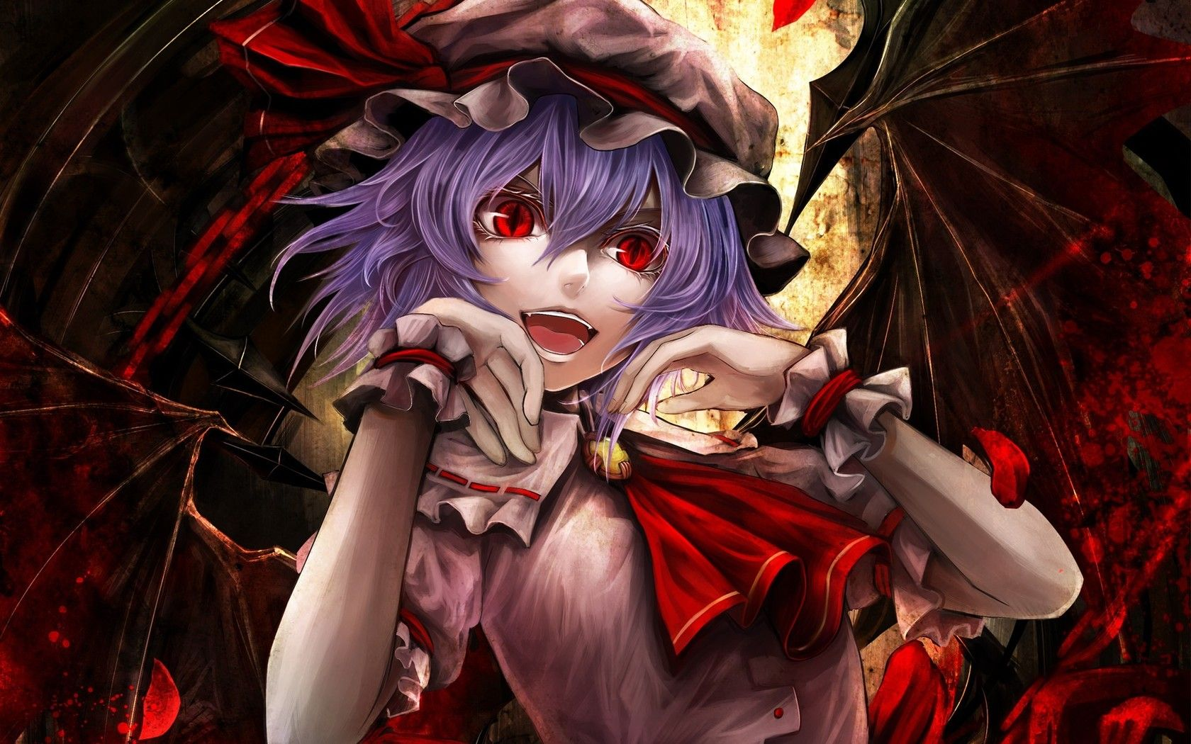anime demon Download wallpaper Art, girl, daemon,
