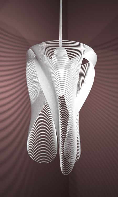 3d Printed Lampshade By Studioluminaire Lamp Design Lighting Concepts 3d Printing