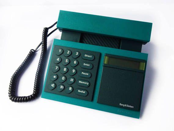 BANG & OLUFSEN Beocom 2000 Telephone Green Blue Phone ... | 570 x 428 jpeg 22kB