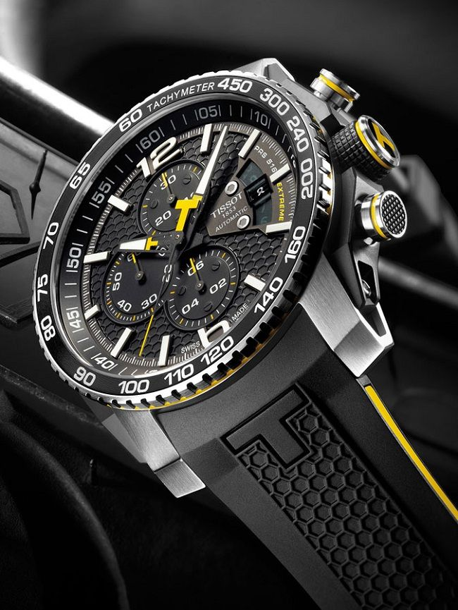 Tissot PRS 516 Extreme – Спортивный хронограф с ярким дизайном | LuxuriousWatches.ru