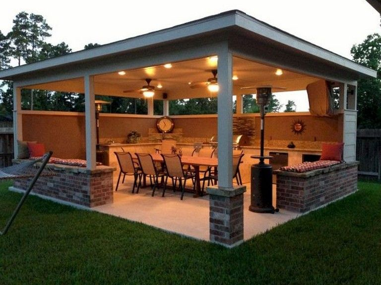 5 Spectacular Remodeling Your Kitchen On A Budget Ideas In 2020 Backyard Pavilion Outdoor Kitchen Patio Backyard Patio