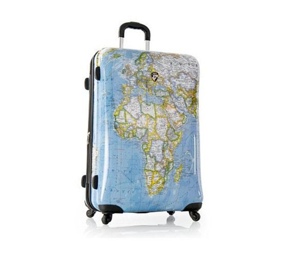27 suitcases and accessories that ease the pain of traveling map suitcase 14497 27 suitcases and accessories that ease the pain of traveling gumiabroncs Image collections