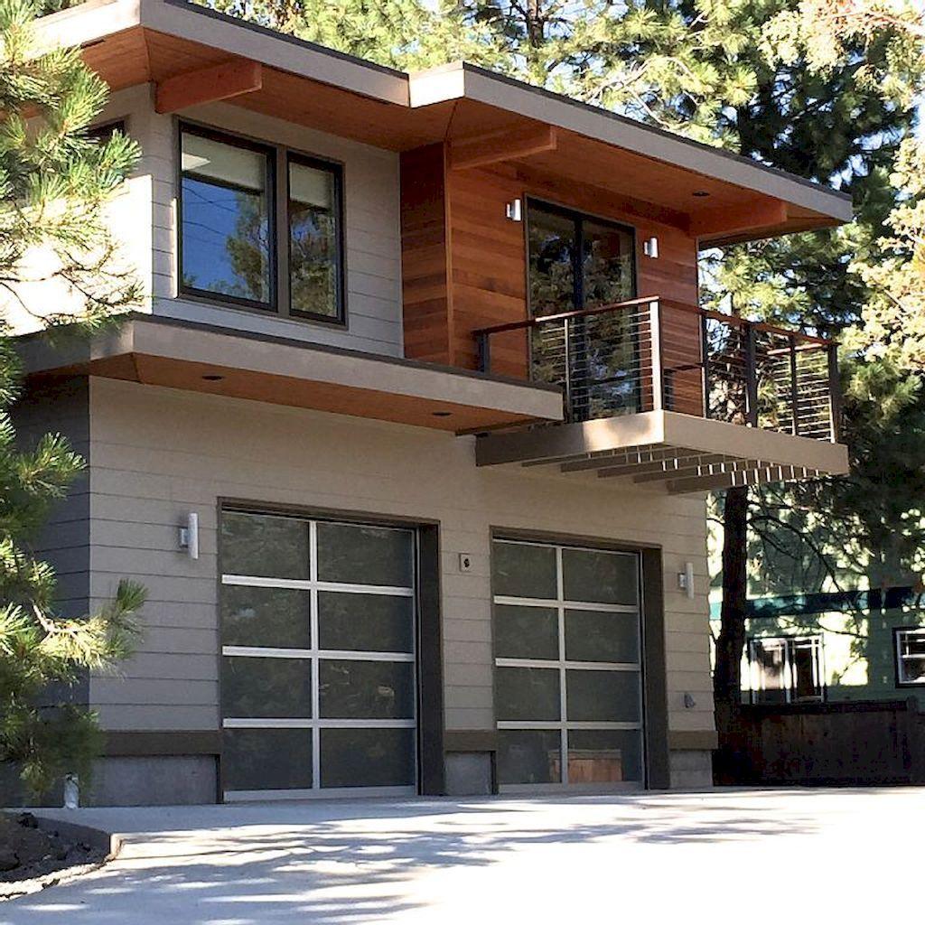 Modern garage apartment designs ideas (18)   Garage   Pinterest