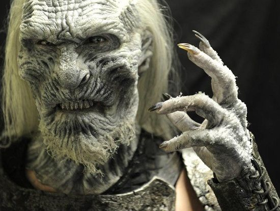 White Walker from Game of Thrones. Designed and built by Creatures Inc. LTD