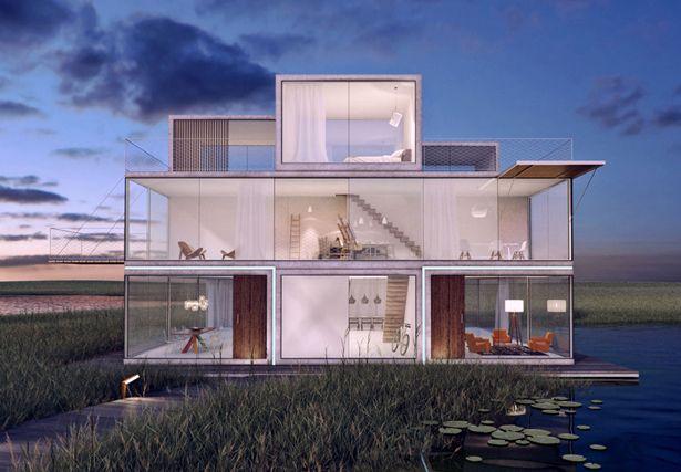 Tetris House by Universe Architecture