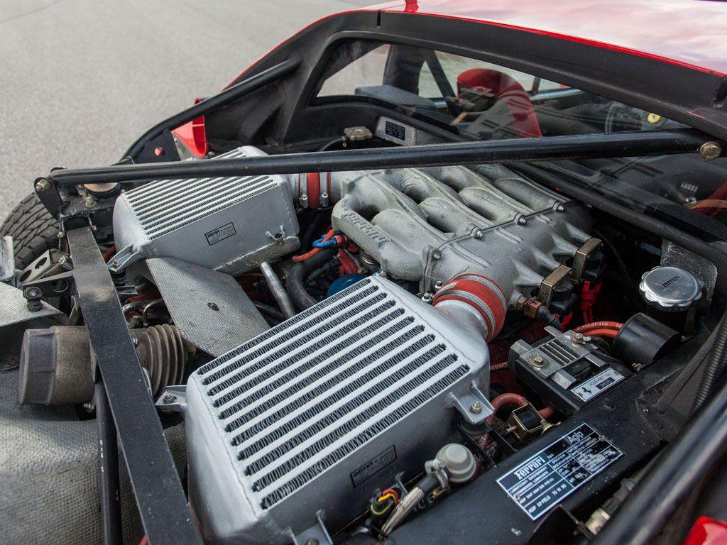 1990 Ferrari F40 - engine bay   Ferrari F40   Pinterest   Ferrari ...