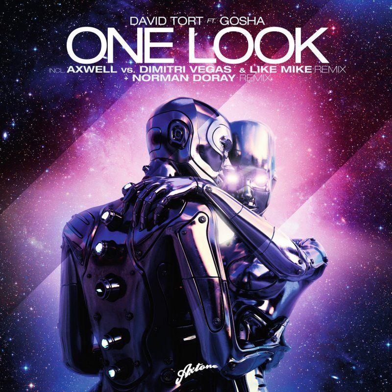 David Tort, Gosha – One Look (single cover art)