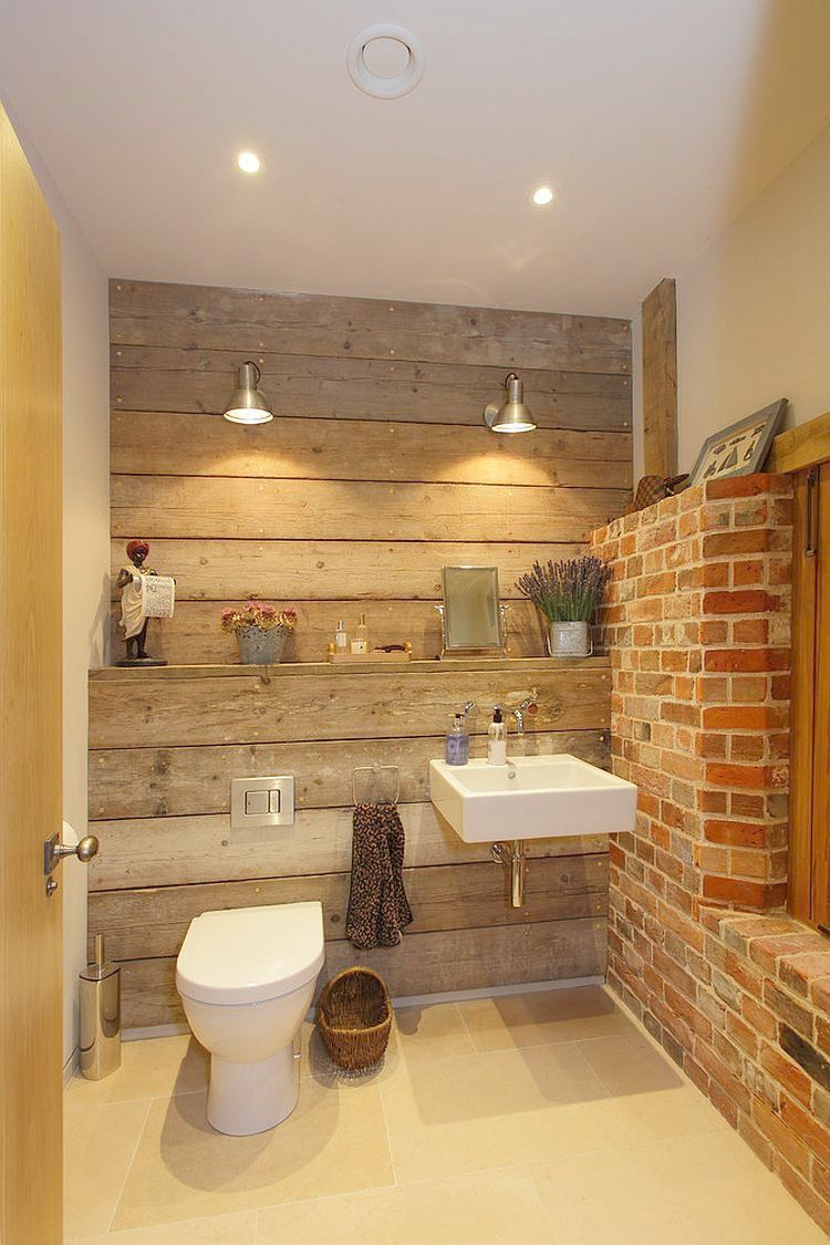 Country Bathroom Lighting Rustic Bath House Projects To
