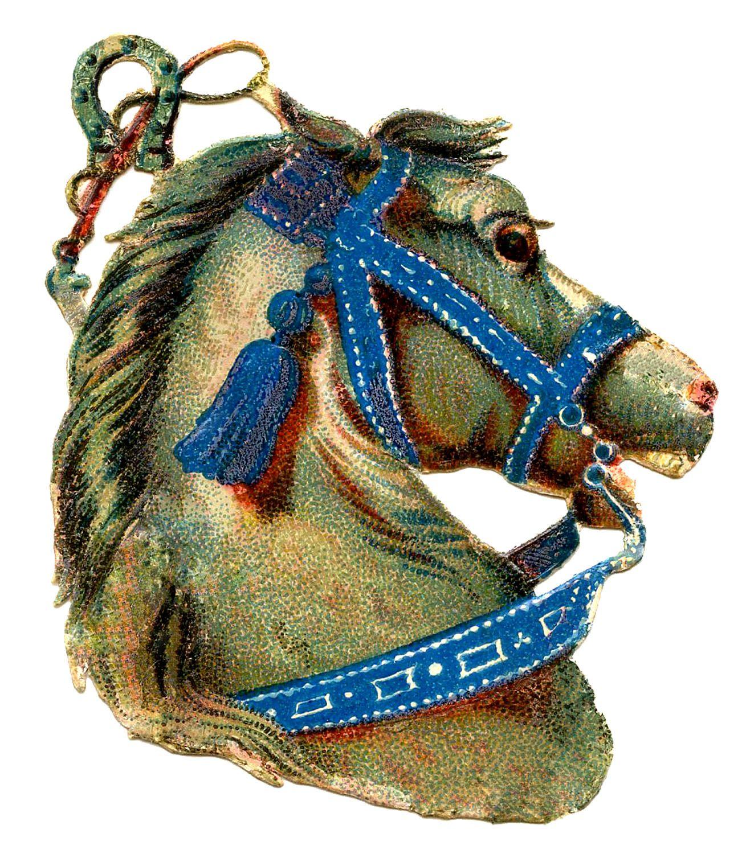 Винтажные лошадки картинки