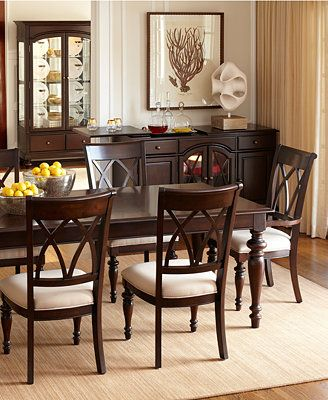 Bradford Dining Room Furniture At Macyu0027s 7 Pc U0026 9 Pc 2 18 Inch Leaves To
