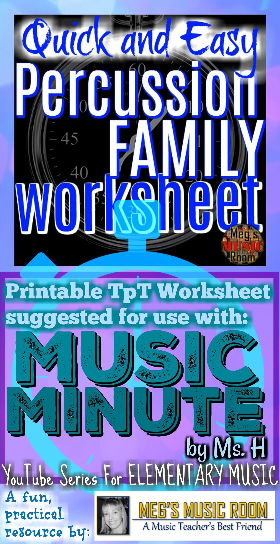 Intro To Percussion Family