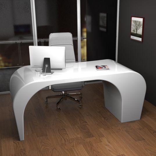 COZY   Scrivania bianca, Scrivania ufficio, Mobili futuristici