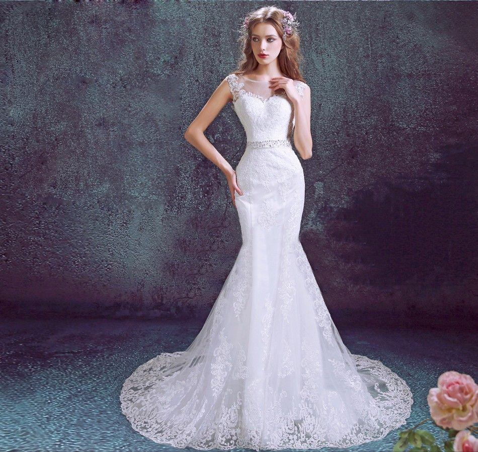 vestidos-de-novia-corte-sirena-estilo-romantico.jpg (950×898 ...