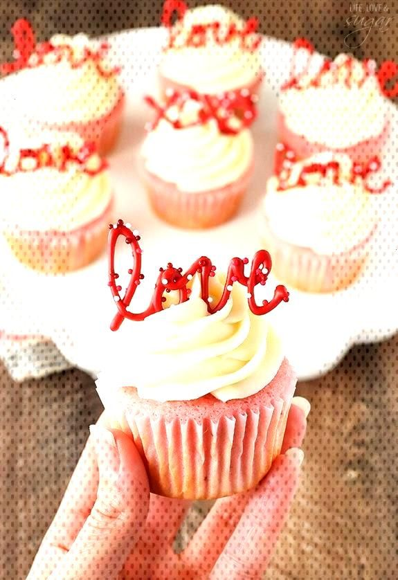 Strawberry Cupcakes with Cream Cheese Tasty amp Pretty Too! Strawberry Cupcakes with Cream Cheese T