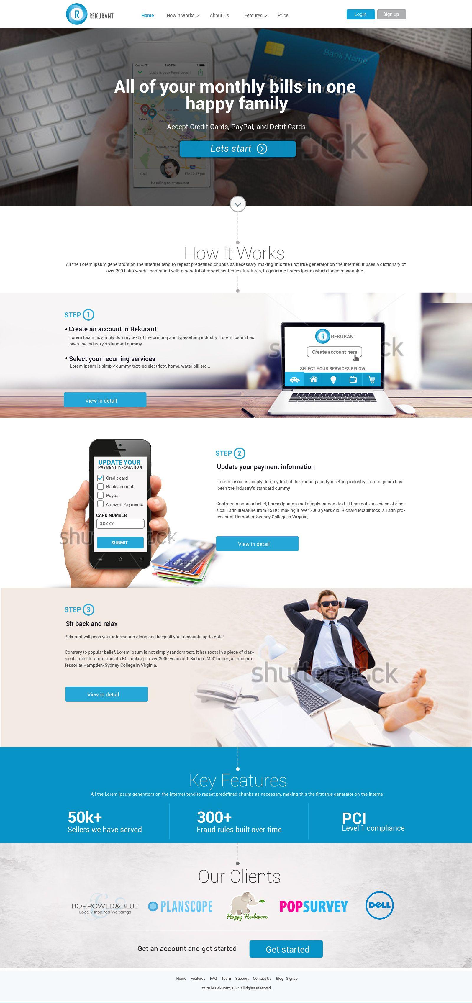Website Design For Money Transfer