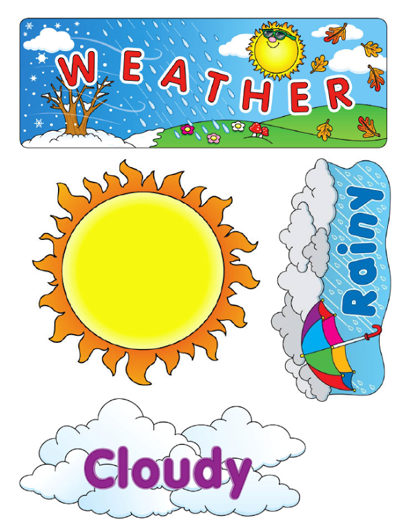 Weather Flashcards Free Teaching Resources Print Play
