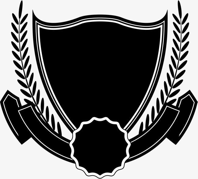 Black Shield Ribbon Ribbon Logo Black And White Logos Half Sleeve Tattoo Stencils