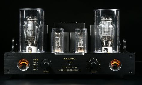 300B SingleEndedTriode Vacuum Tube Life-Changing Music Playback.12.5 WPC of pure Class A deliciousness. Not to be hidden! ~ Allnic T1500 | Hammertone Audio. 50 lbs. $6900.00 USD