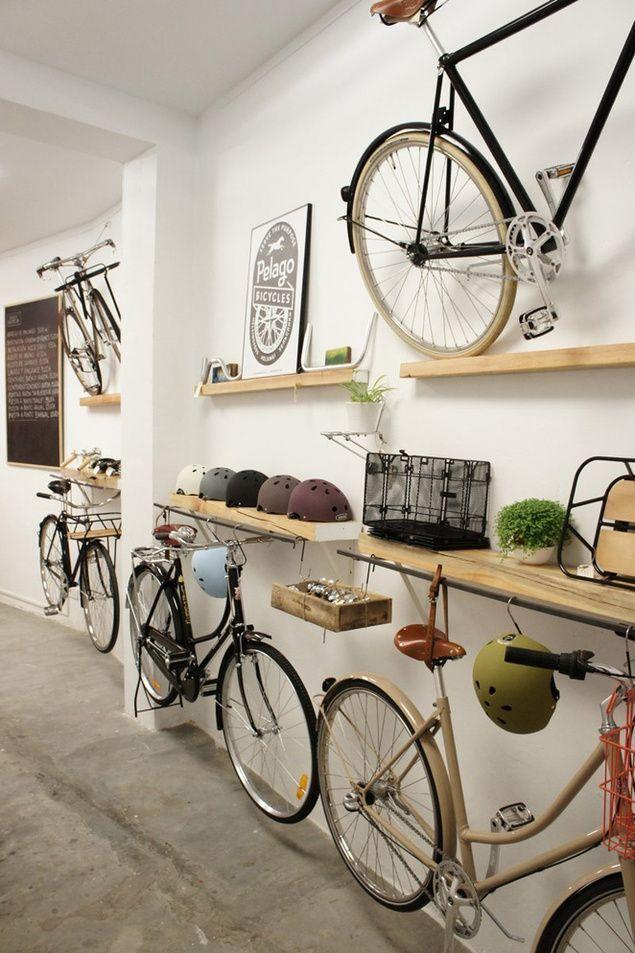 15 amazing bike storage ideas for the small apartment small room ideas - Bike Storage Ideas