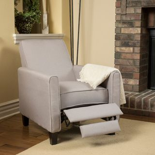 christopher knight home darvis wheat fabric recliner club chair o