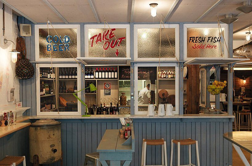 Conde Nast Traveler On Instagram At The Fish Shop In Potts Point I Scoured Australia For Old Fishing Nets C Fish And Chip Shop Shop Interiors Fish And Chips