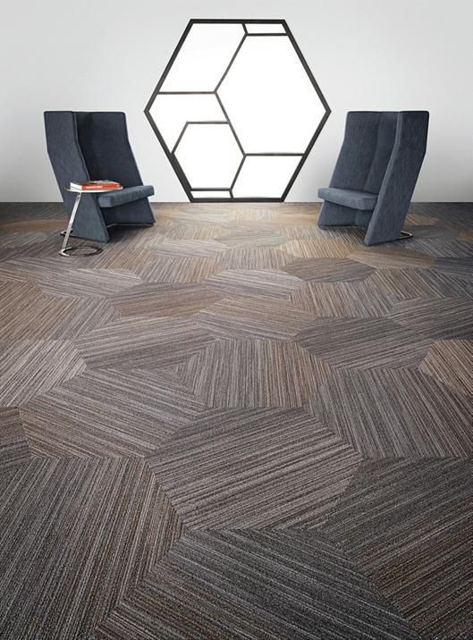 Conference Room Flooring | linear shift hexagon | 5T056 | Shaw ...