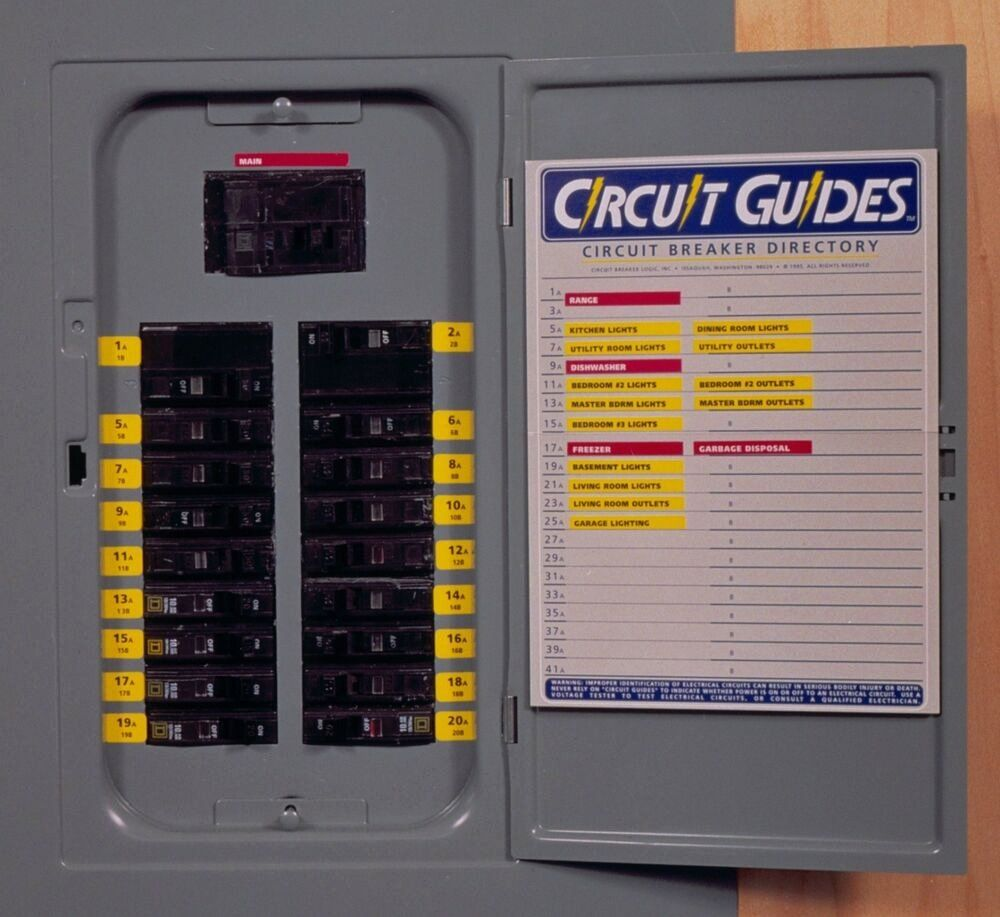 30 Electrical Panel Labels In 2020 With Images Electrical
