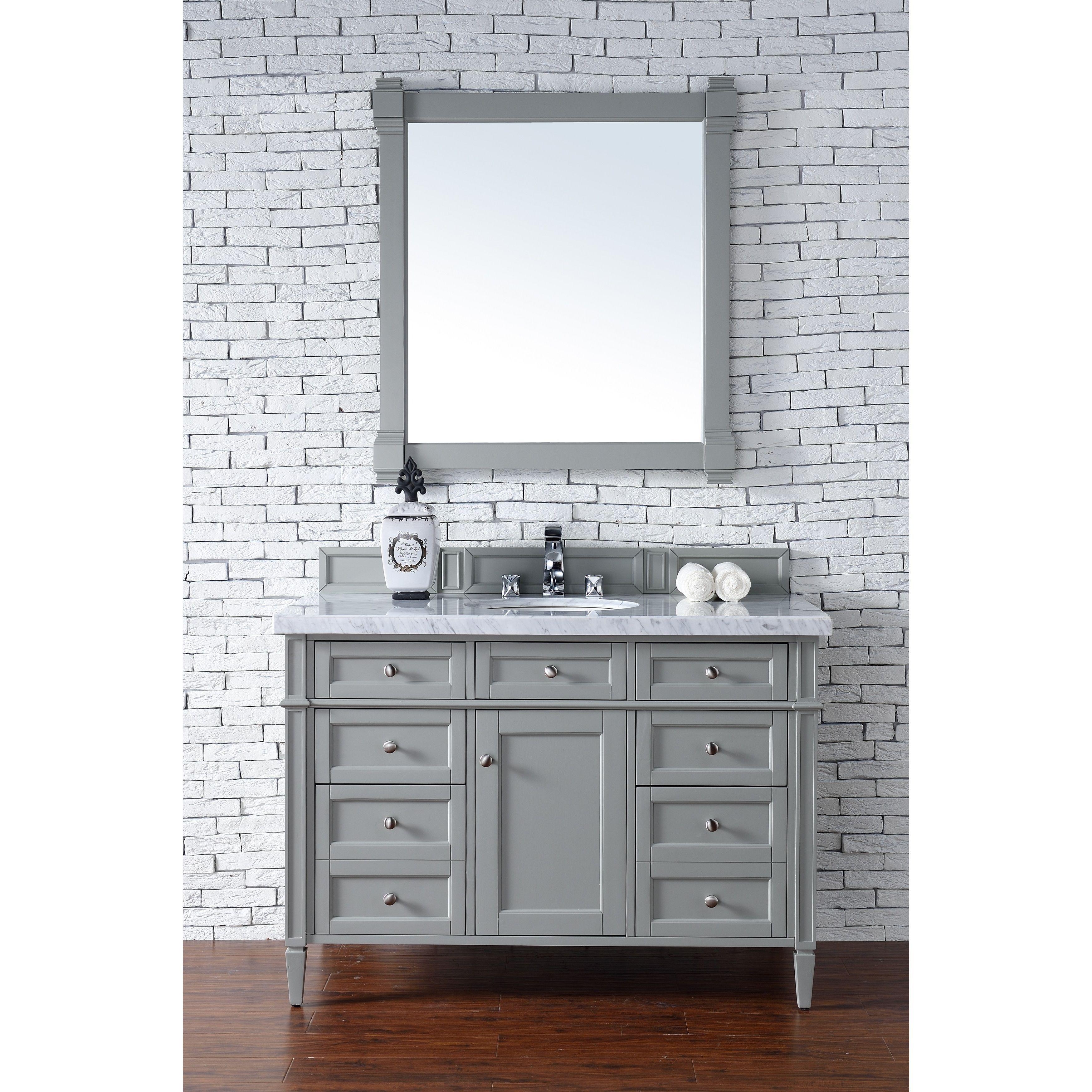 James Martin Furniture Urban Grey Brittany 48-inch Single Vanity ...