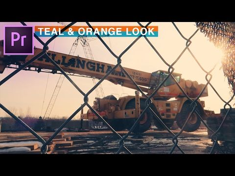 14) How to Achieve TEAL and ORANGE Cinematic Film Look