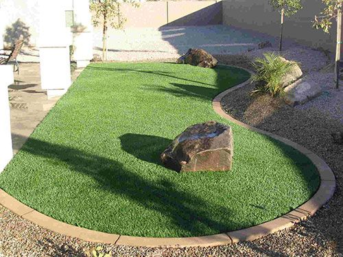artificial turf backyard. Synthetic Turf Backyard Options - Landscaping Gardening Ideas Artificial T