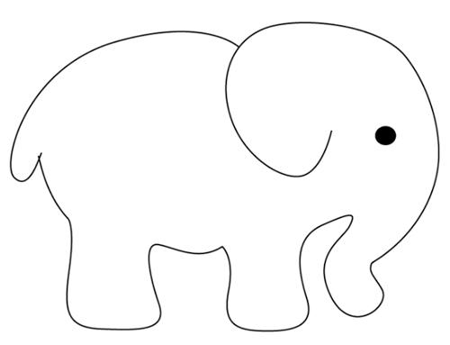 Elefante Dibujo Facil Para Ninos Dibujos De Elefantes Dibujos De Elefantes Elefantes Para Colorear Dibujo De Elefante