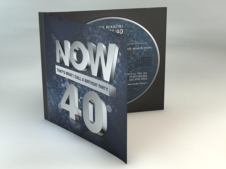 Free 40th Birthday Invitations Ideas