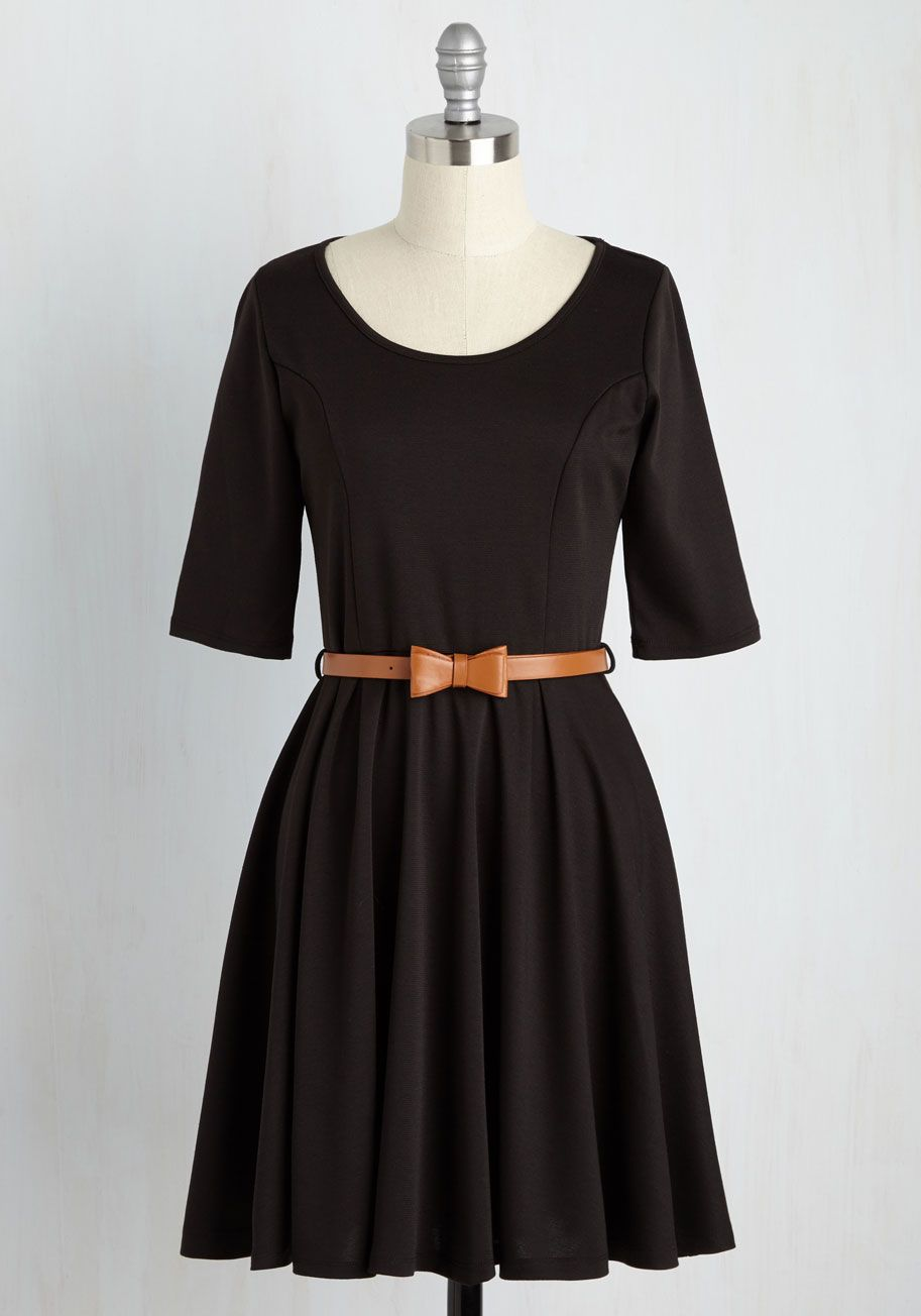 d0fb256dec022 Abiding Beauty Dress in Black. Certain styles are so spectacular that they  never need improving - like this classic black A-line dress!  black   modcloth