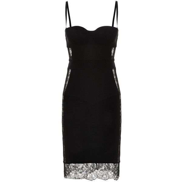 La Perla ShapeAllure Dresses (€575) ❤ liked on Polyvore featuring dresses, short dresses, red, short, lace cocktail dress, short cocktail dresses, long lace dress, red evening dresses and long evening dresses