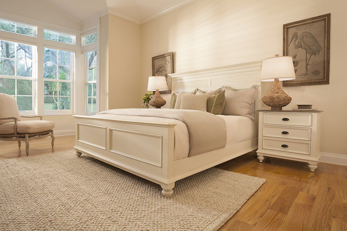 City Furniture Coventry White Panel Bed White panel