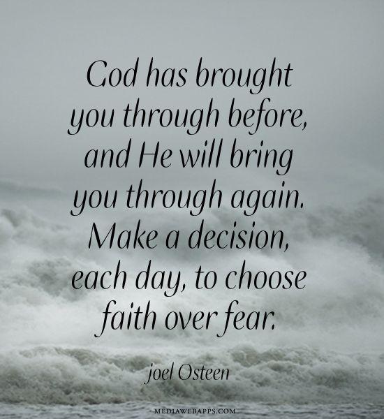 god will help you through