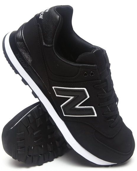 New Balance High Roller Black 574 Sneakers