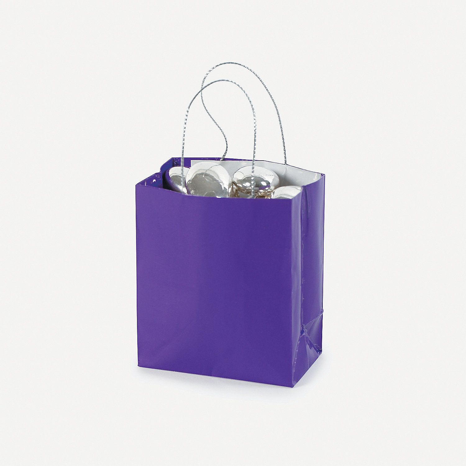 Mini Purple Gift Bags | Minis, Bag and Gift