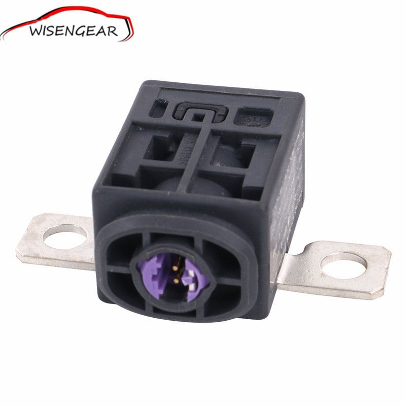 High Quality Black Battery Fuse Box Overload Protection Trip For