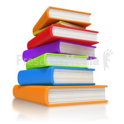 Book Stack PowerPoint Clip Art Stick Figures PowerPoint Animations