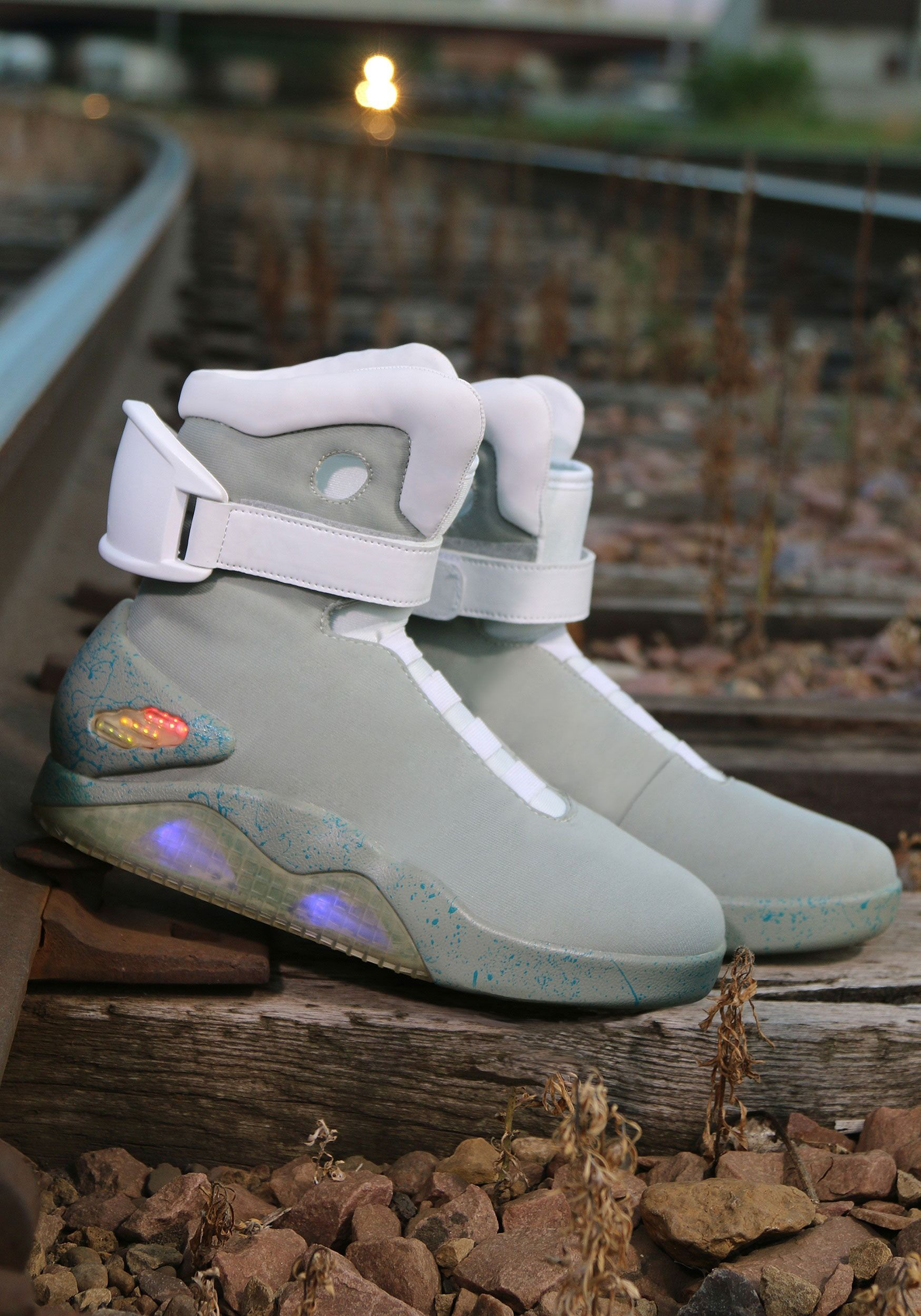 Back To The Future 2 Light Up Shoes With Images Sneakers Nike